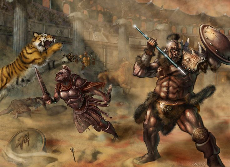 the study of gladiators William grimes reviews book the gladiators: history's most dangerous  and  anticipates their every question in this admirable little study.