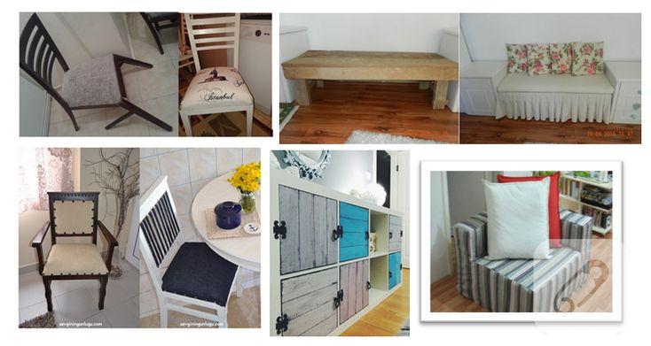 Kendin yap mobilya yenileme örnekleri