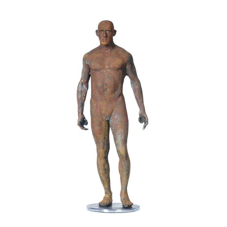 """Adriaan Diedericks / """"Innate (Maquette) II"""" - Bronze or Resin / Ed of 12 / 50 x 20 x 10cm"""