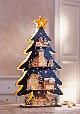 Die besten 25 tannenbaum aus holz ideen auf pinterest - Fensterdeko weihnachten beleuchtet ...