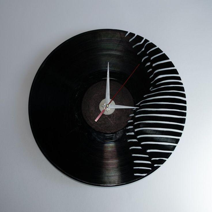 Silhouette Vinyl Wall Clock