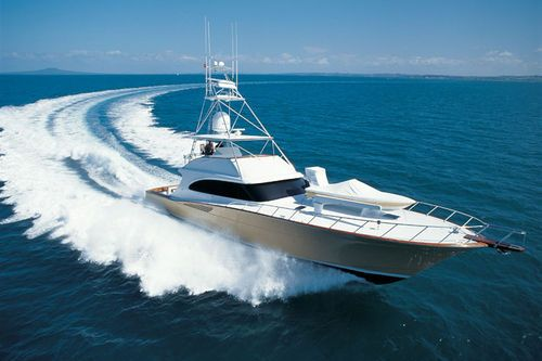 sport-fishing boat #reellife #geathatfitsyourlifestyle www.reellifegear.com