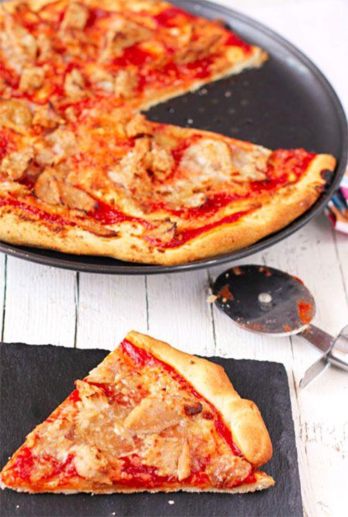 Pizza de atún encebollado Isabel