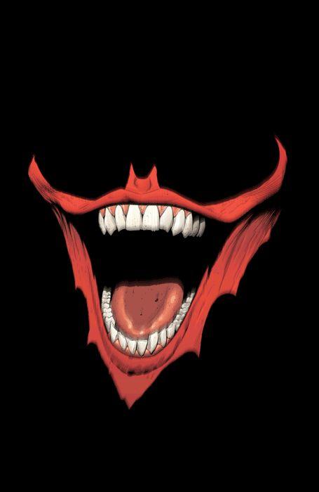Bat Joker smile by Greg Capullo