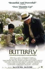 Butterfly Movie Poster 27x40 Used