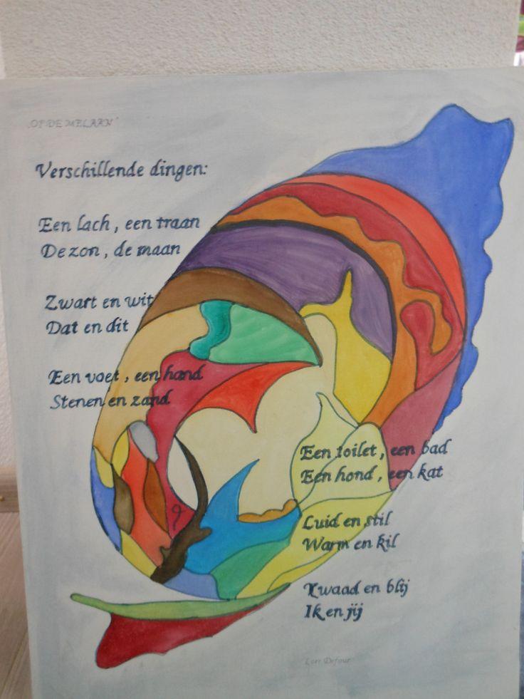 gedicht : Op de Melaan