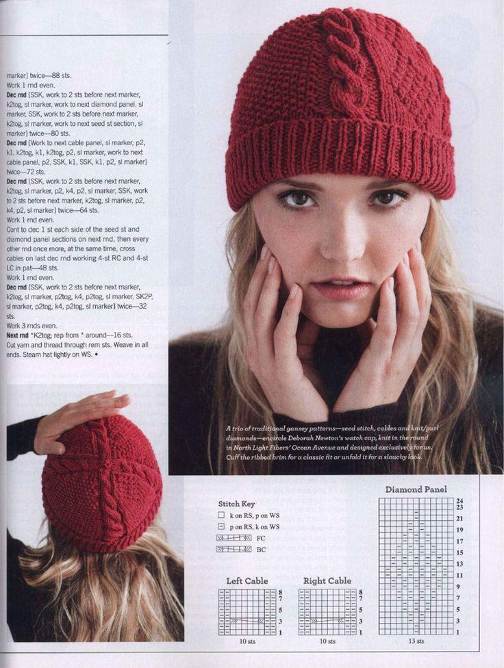 616 best caps images on Pinterest | Crochet hats, Knit crochet and ...