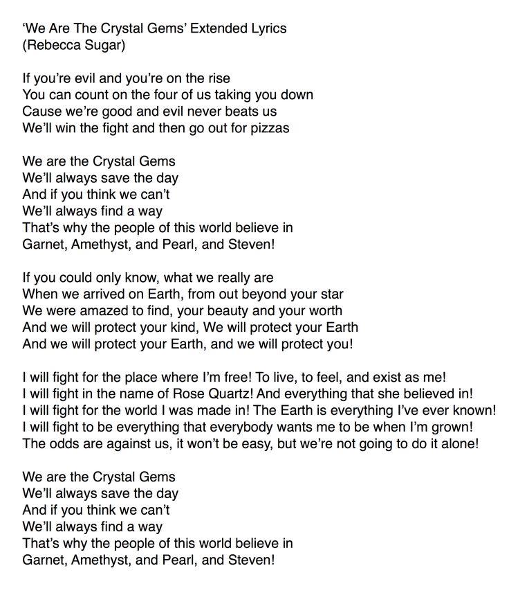 gem lyrics
