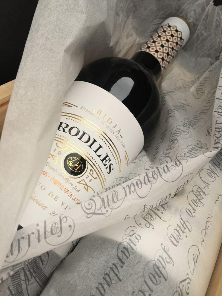Rodiles Reserva, sí.... pero de blanco de Viura... Viñedos de Alfaro.