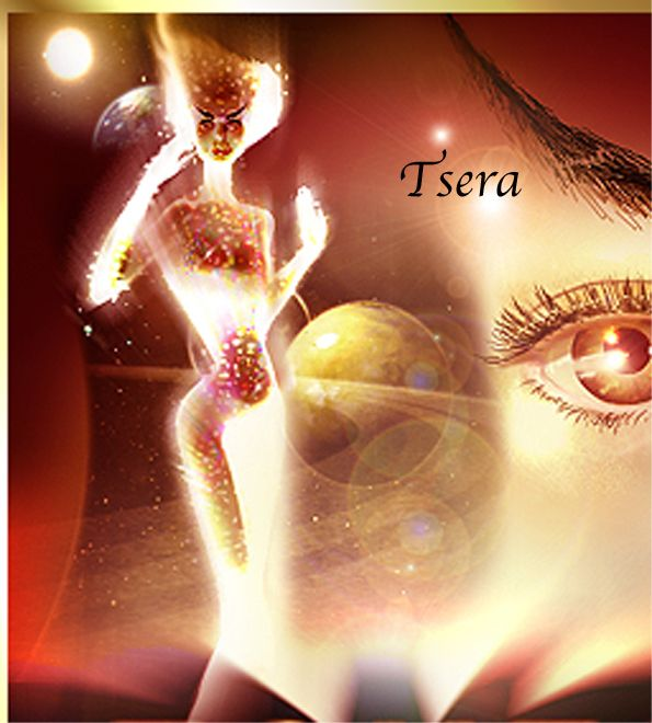 Tsera is the being who initiates the Singers and gives them their unique Vibration.