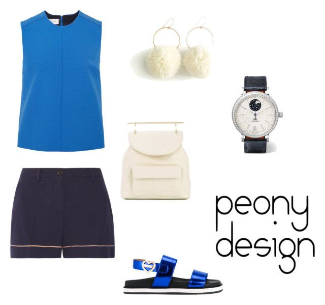 Peony Design by teri-peony on Polyvore featuring Victoria, Victoria Beckham, Miu Miu, Love Moschino, M2Malletier and IWC Schaffhausen