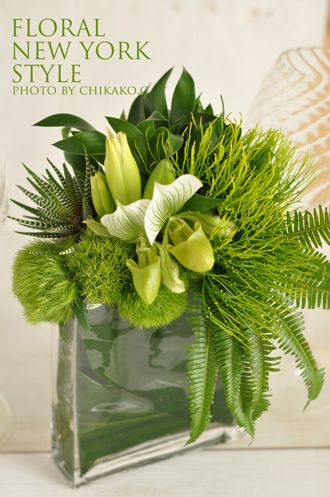 Fresh Flower Arrangement #57 by FLORAL NEW YORK, via Flickr Many pics at this site.