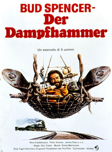 The 5 Man Army | Filmography | Bud Spencer Official Website