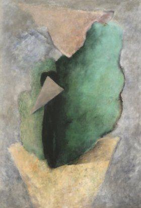 Josef Šíma - Krajina s trojúhelníkem