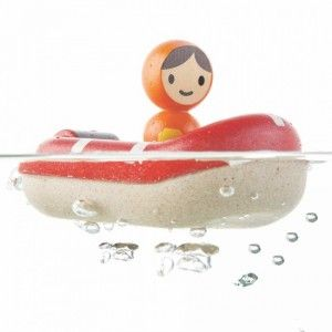 Plan Toys - Coastguard Boat: This excellent wooden Coast Guard Boat by Plan Toys will keep your bath tub safe from any illegal vessels as it is pushed around. Manufactured from wood this wooden coast guard boat and driver will add to additional enjoyment to bath time. Age: 12+ Months #alltotstreasures #plantoys #coastguardboat #woodentoys #boat #coastguard #bathtoys #bathtimefun