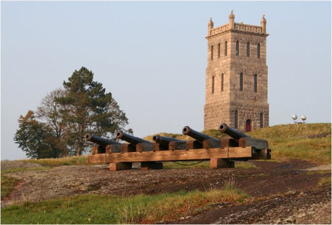 Slottsfjellet, Tønsberg, Norway. There used to be a castle/fortress here previously.