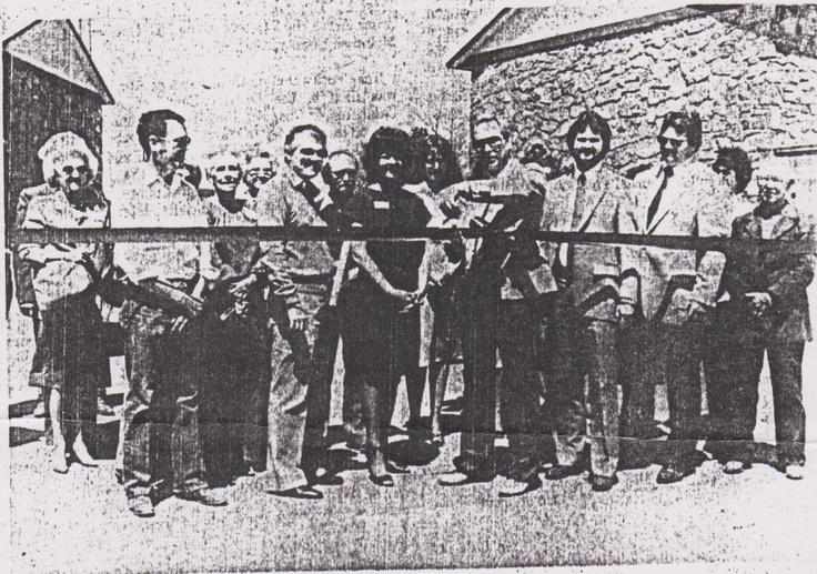Joe Johnson | Eufaula, Oklahoma: Ribbon Cutting at Shorehomes at the Cove - Eufaula Mayor Joe Johnson