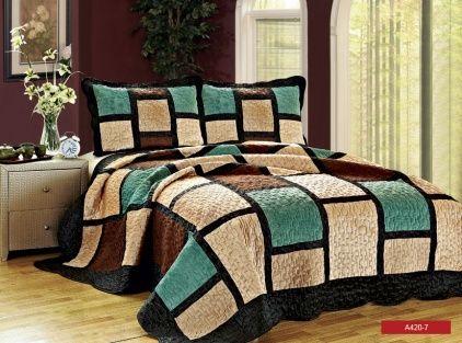 Cuvertura pentru pat de la Valentini Bianco are un design inedit ce va aduce un efect peste asteptari camera tale de dormit. Profita de reducerea de 30% si comanda produsul acum! http://goo.gl/gB9kxT