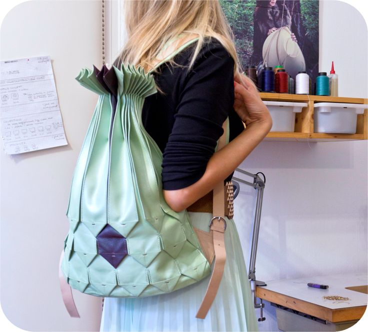 Leather bag by Twofold Concept http://www.budapestwithus.hu/heinrich-alkotoi-szint/