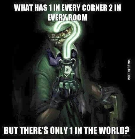 Image result for riddler riddles