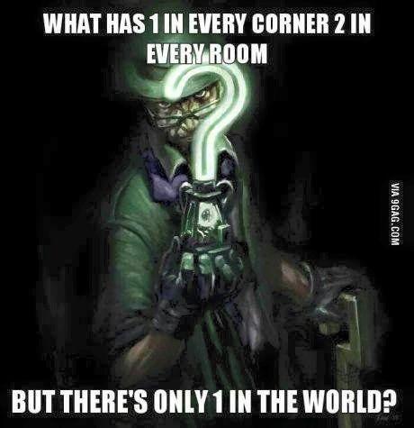 Image result for riddler riddles