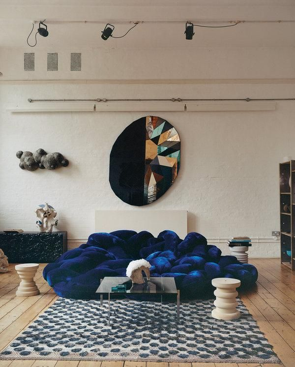 How A Design Dealing Couple Turned A School Gymnasium Into A Home