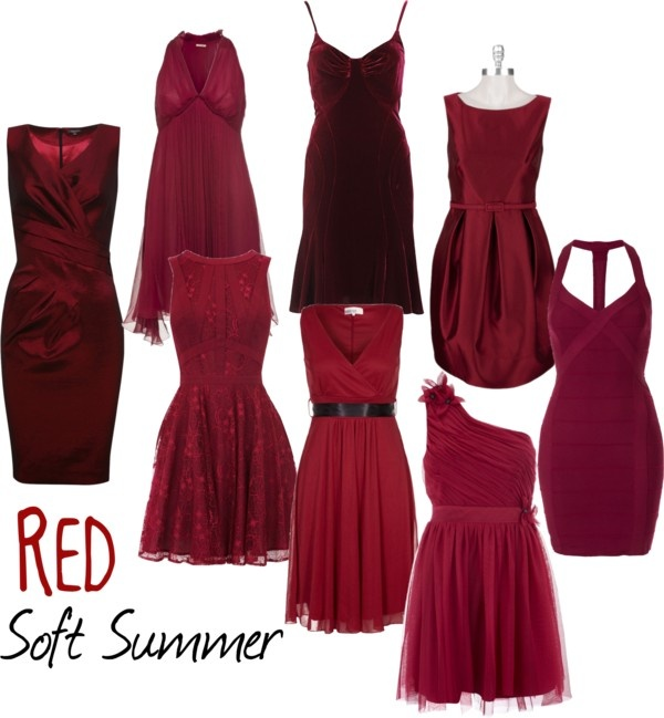 """""""Soft Summer Red"""" by colorazione on Polyvore                                                                                                                                                      More"""