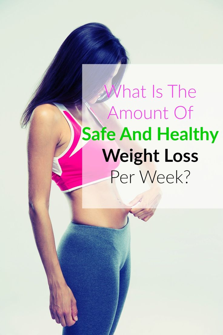 Safe And Healthy Weight Loss Per Week We've all seen them – magazine articles and Internet clickbait claiming you can lose an outrageous amount of weight in an incredibly short time. And while it may be tempting to believe that you can drop 30 pounds in a week, the fact is that there are limits to how much weight you can safely lose in a limited amount of time.