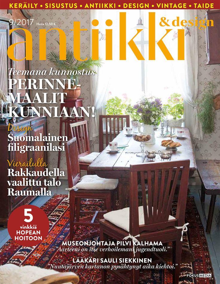 Antiikki & Design 9/2017. Kuva Arto Vuohelainen.