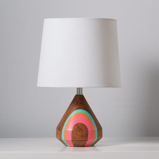 Natural Color Table Lamp Base (Pink)  | The Land of Nod