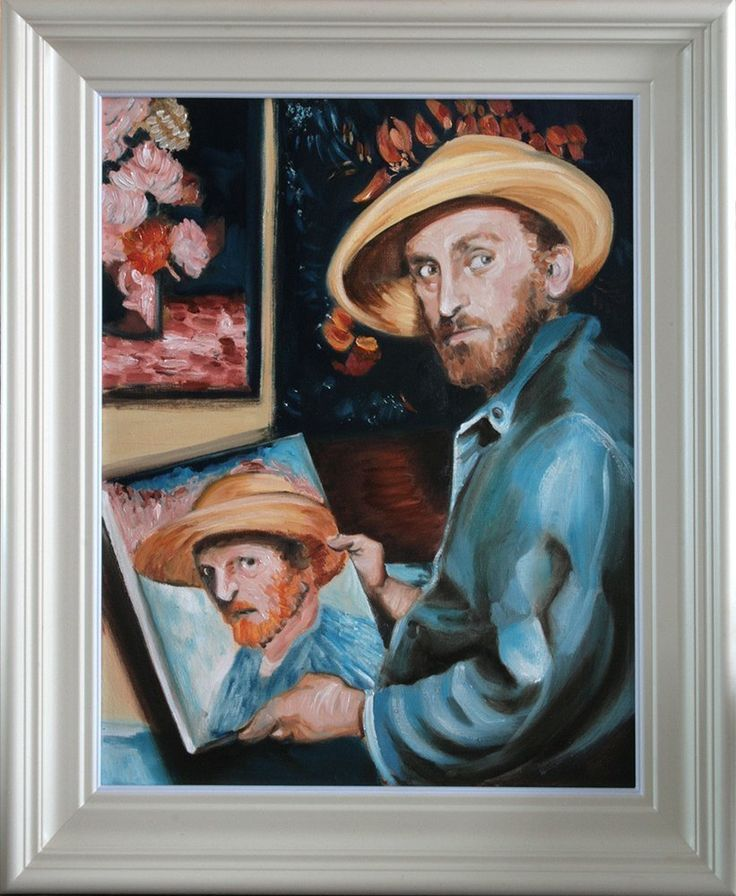 Kirk Douglas as Vincent Van Gogh, Oil on Canvas Painting Framed, Art from Ireland (FREE WORLDWIDE SHIPPING). Lust for Life (1956) MGM biopic movie about the life of Vincent Van Gogh, directed by Vincente Minelli. The movie stars Kirk Douglas as Van Gogh, James Donald as his brother Theo, Pamela Brown, Everett Sloane and Anthony Quinn who won an oscar for his portrayal of Paul Gauguin.