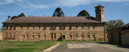 Ward 1 at Parramatta Cumberland Hospital Psychiatric Ward......formally part of the Female Factory
