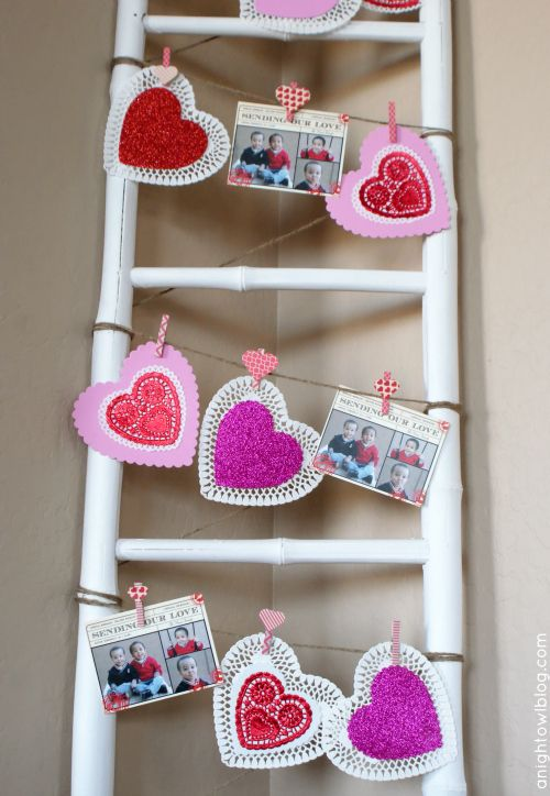 Tiny Prints Valentine's Day Card DIY Display