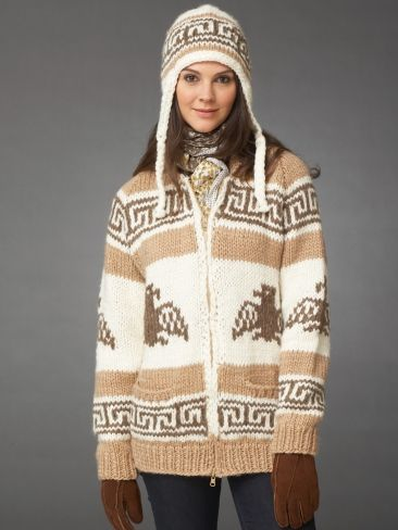 I'm the Dude Jacket | Yarn | Free Knitting Patterns | Crochet Patterns | Yarnspirations