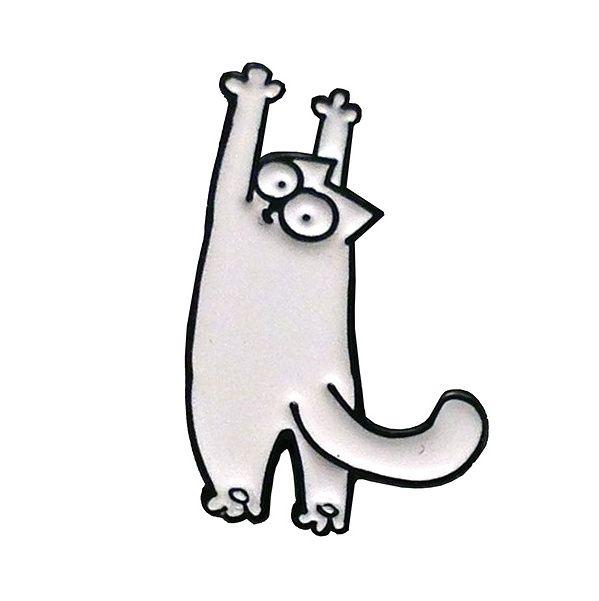 gattosa spilla - pin Simon's Cat   www.gattosi.com