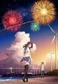 劇場アニメ「打ち上げ花火、下から見るか?横から見るか?」ビジュアル