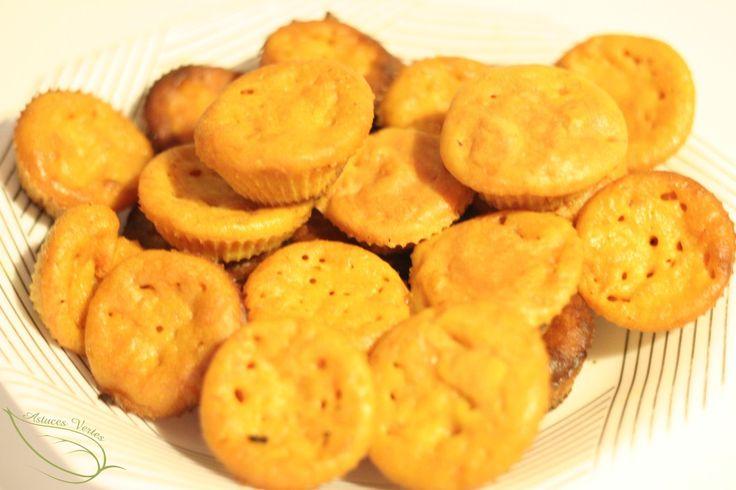 Recette végétarienne : muffins au potiron
