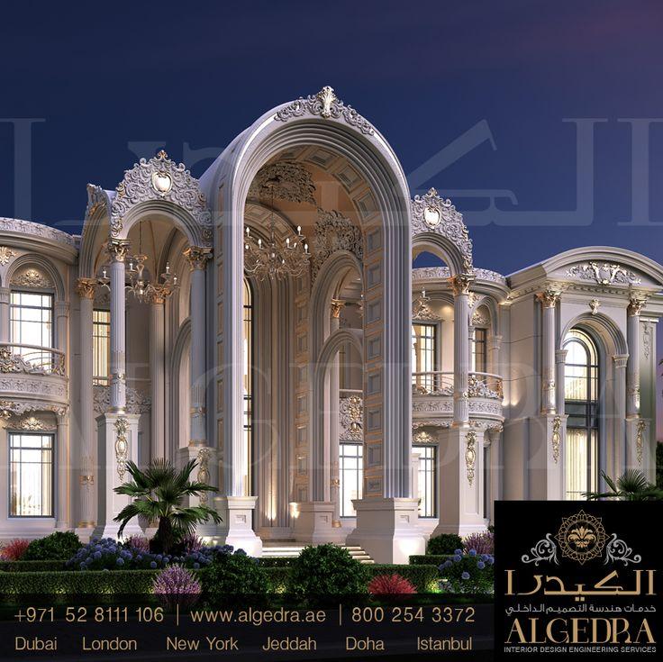 Exterior: #Decor #villa #Design #InteriorDesign #VillaDesign #Dubai