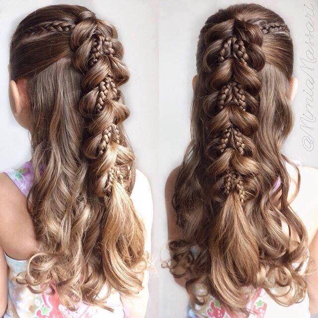 Girl Hairstyles Entrancing 106 Best Kids Hairstyles Images On Pinterest  Girls Hairdos Kid