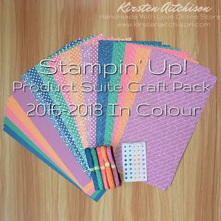 Kirsten Aitchison   Retired Stampin' Up! Product Suite Craft Packs   Click to find out more   #kirstenaitchison #productsuitecraftpack #craftpack #incolor2016-17 #incolour2016-17 #designerseriespaper #dsp #ribbon #embellishments #crazycrafters #stampinup