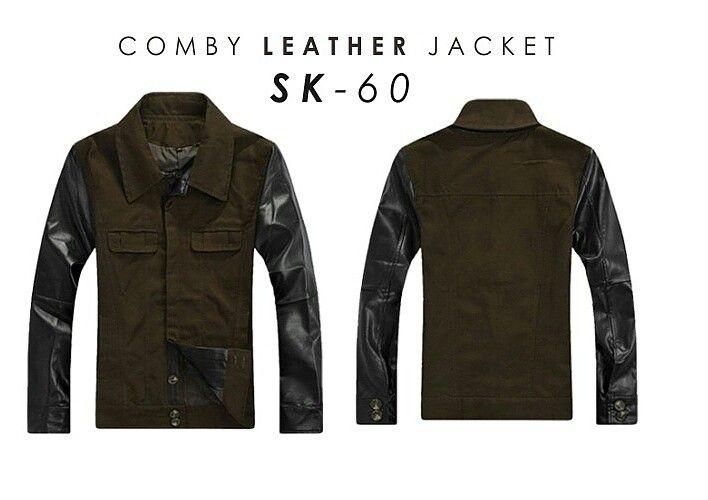 Jacket comby leather [] ready size S M L XL [] WA 085701111308 [] BBM D25C521D
