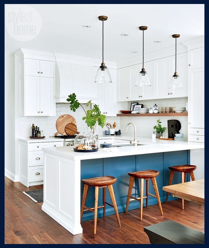 How To Go About Changing Your Kitchen Decor Kitchen Decor Tips Small White Kitchens Kitchen Design Small Kitchen Remodel Small