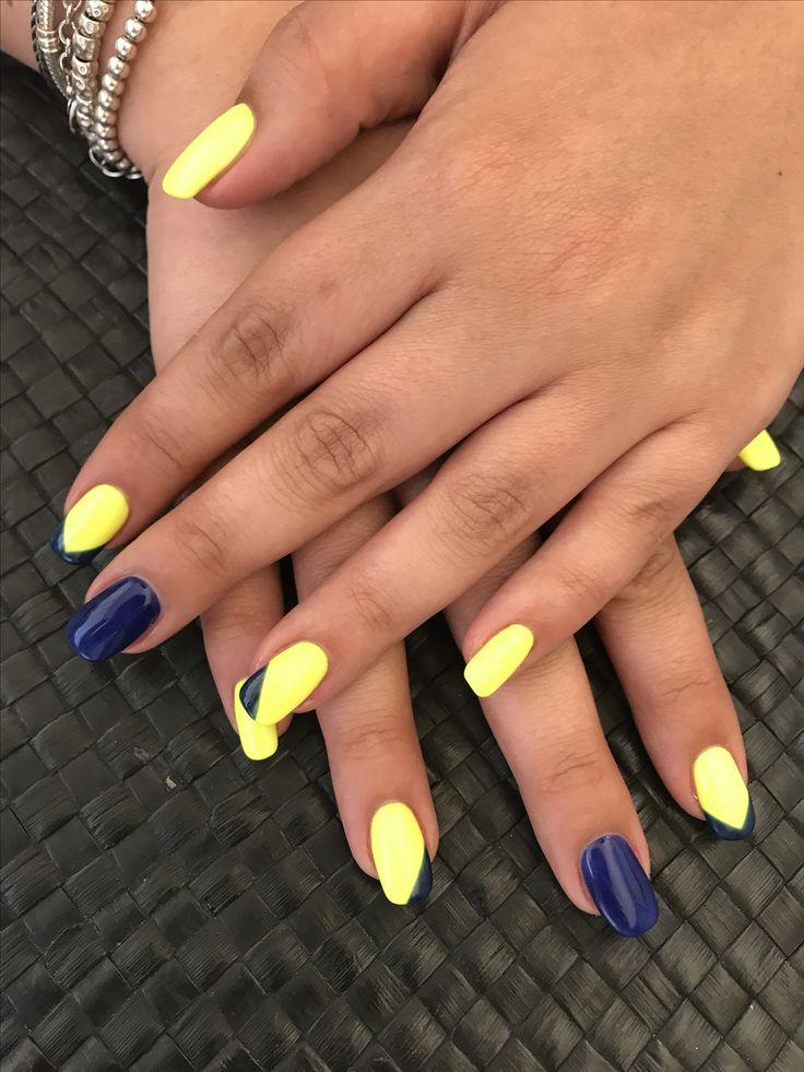 #orly#vogliotantocolore#gialloblu#enza&clara