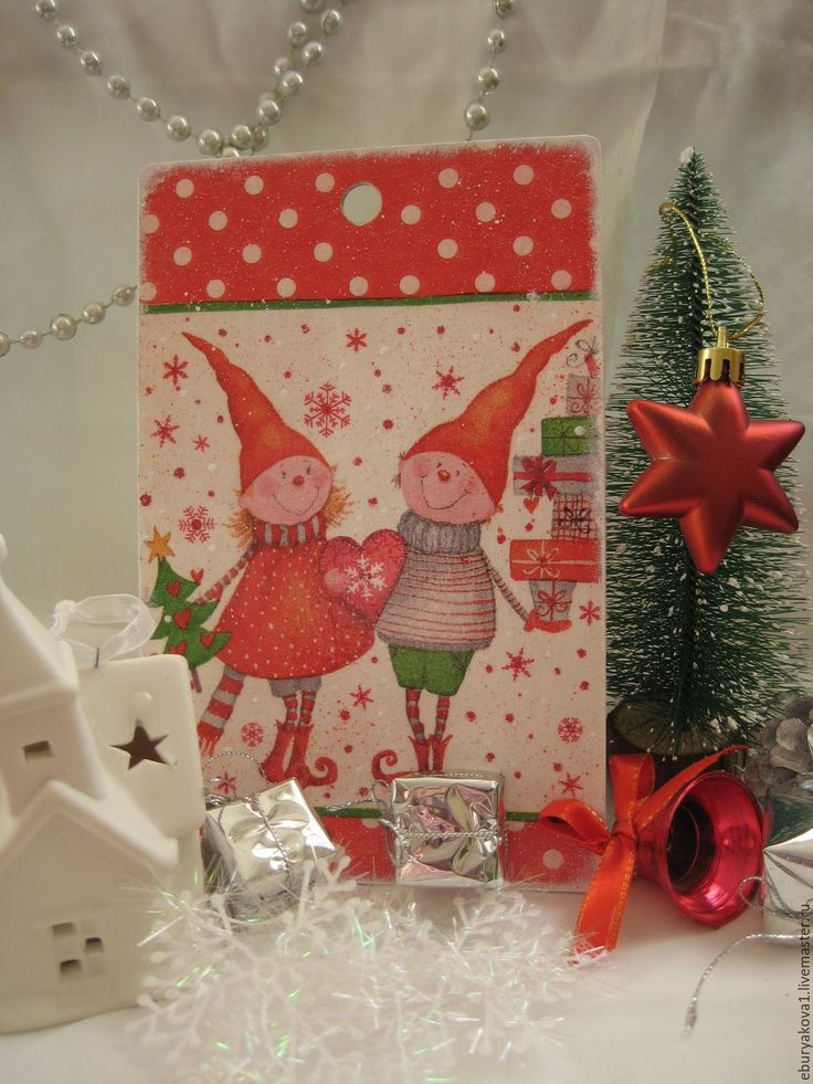 """Купить Декоративные досочки """"Веселые ребята"""". - комбинированный, подарки ручной работы, подарки к праздникам, подарки"""