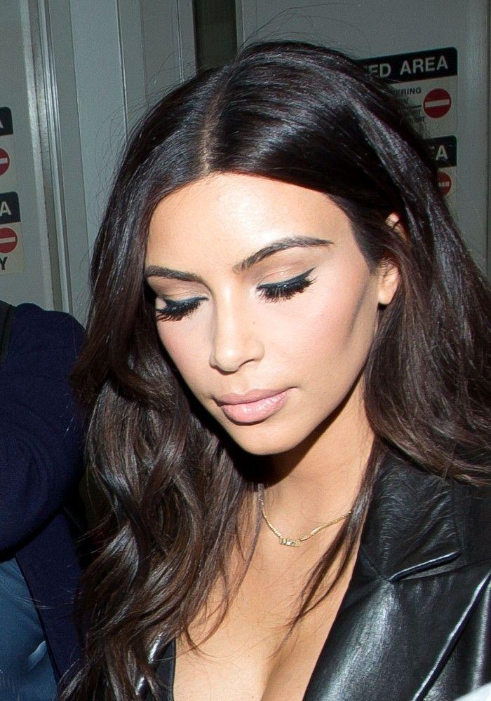 Kim Kardashian Cat Eyes