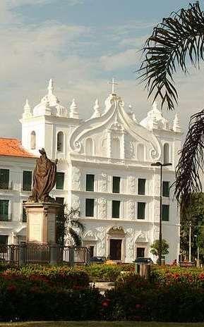 Igreja de Santo Alexandre hoje abriga o Museu de Arte Sacra, Belém do Pará, Brasil