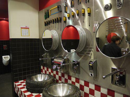 mens bathroom genius