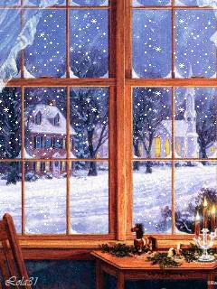 CLICK ON IT AND WATCH THE SNOW FALL....LOVE!!!!