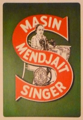 Indonesian Old Commercials: Mesin Djahit Singer (sewing machine)