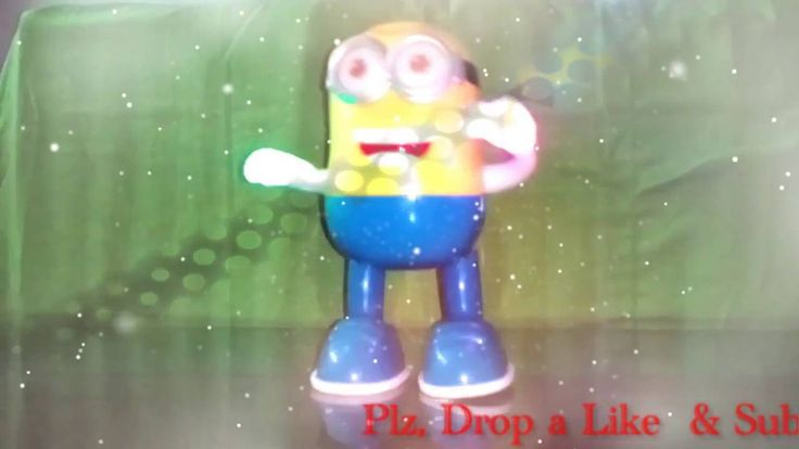 "Funny Minions Papaya Dance Remix | M4N | ""Funny minions toy for Kids"" 